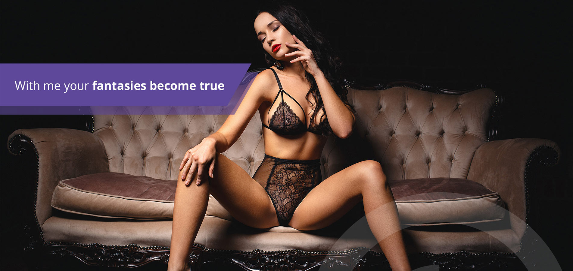 With me your Fantasie becomes true - Fame Escort Hamburg
